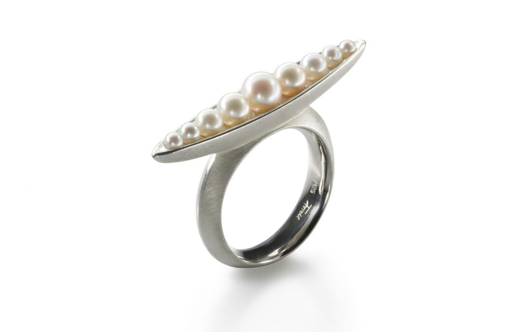 Ring Perlenschiffchen